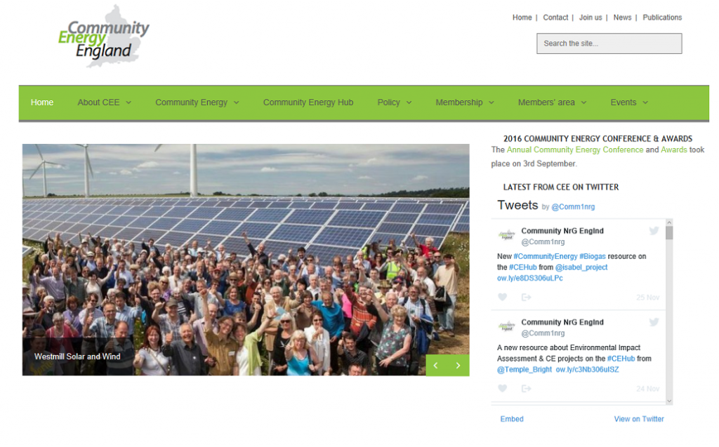 Community Energy England 1038