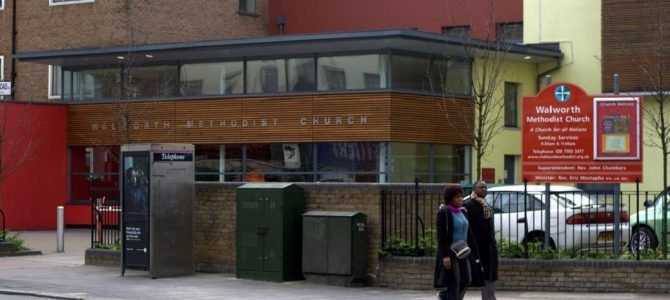 SE24 working with Walworth Methodist Church to cut carbon in South London