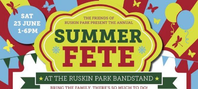 SE24 at Ruskin Park Fete