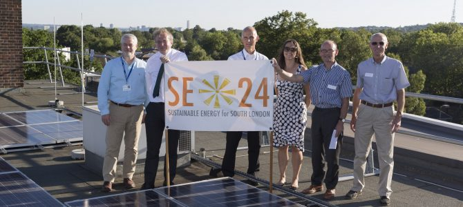Celebrating SE24's Phase 2 installations