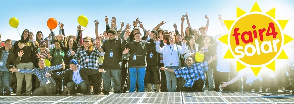 SE24 welcomes the #Fair4Solar Campaign – please join in!