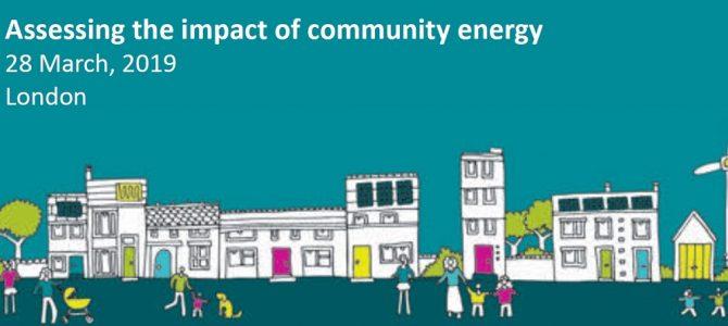 Community energy impact study
