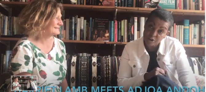 Harriet Lamb and actress Adjoa Andoh in conversation about investing in SE24